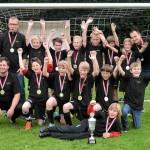 Jugendfußball: Triumph für die E I SG 06 feiert den Kreispokalsieg