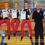 3 Podestplätze bei den NRW-Nachwuchsmeisterschaften