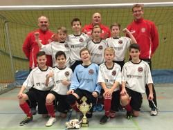 Eintracht Rheine, diesjähriger Sieger des D1-Turniers