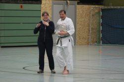 Abteilungsleiterin Manuela Völker mit Norbert Dalkmann